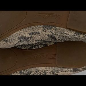 Lucky Brand Shoes - Lucky Brand Emmie Snake Flat 7.5 Ballet Gray